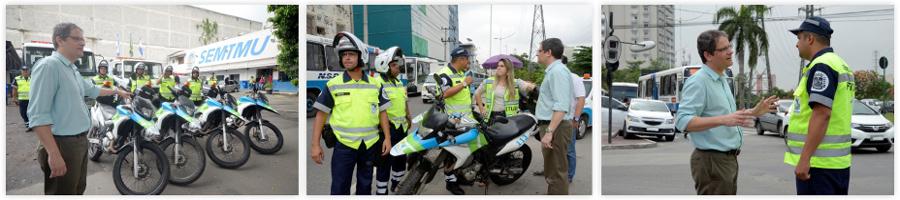 Nova Iguaçu ganha quatro motos e dois reboques para reforço no trânsito
