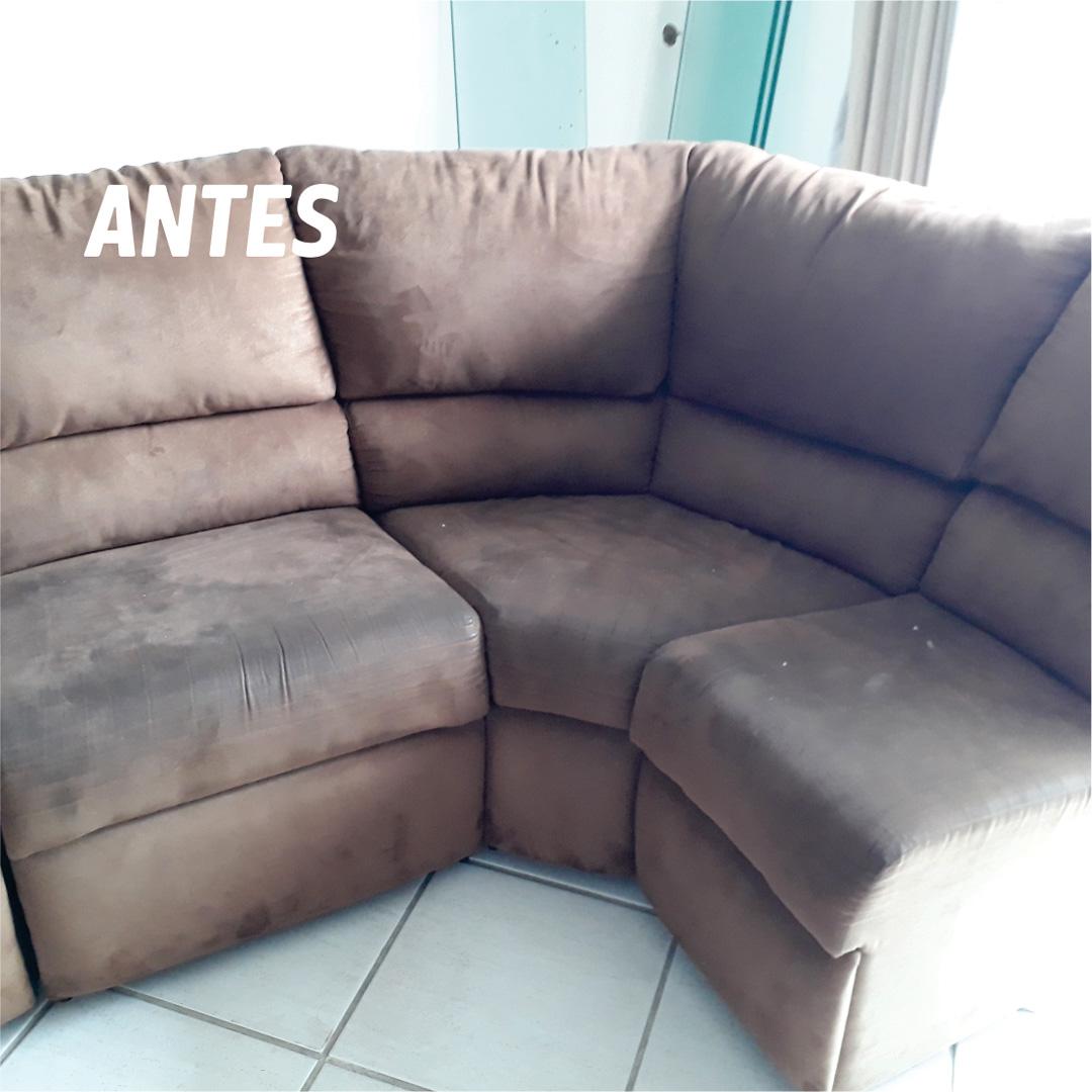 higienização de sofá em santa rita
