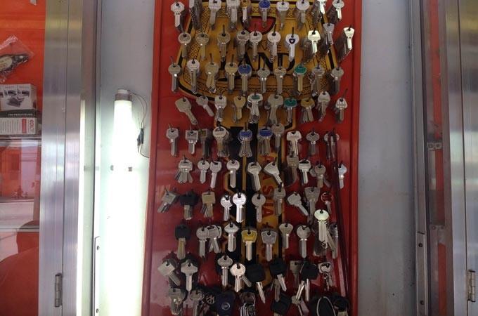 Diversos tipos de chaves