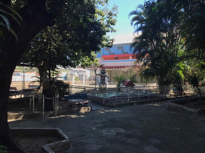 área externa da escola