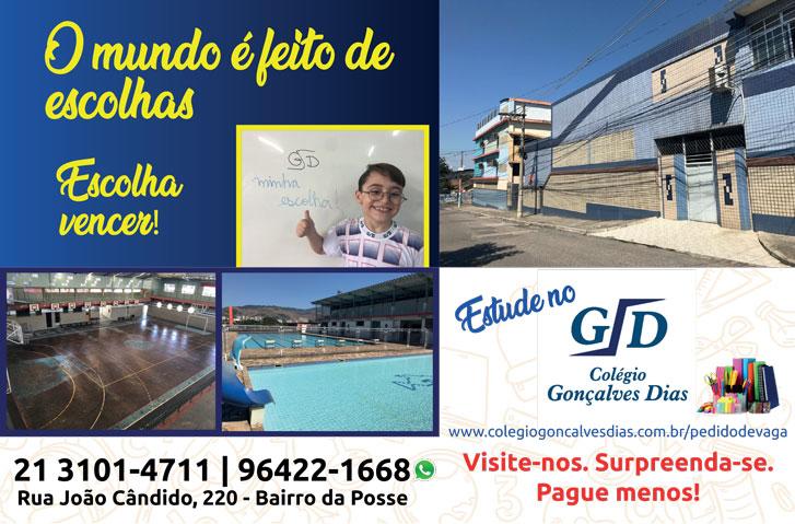Colégio Gonçalves dias, escola particular em nova iguaçu, escola particular na posse