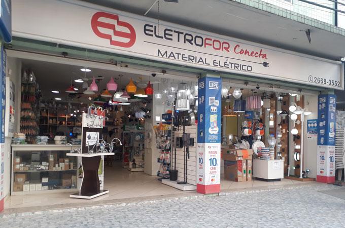 loja de material elétricos em miguel couto