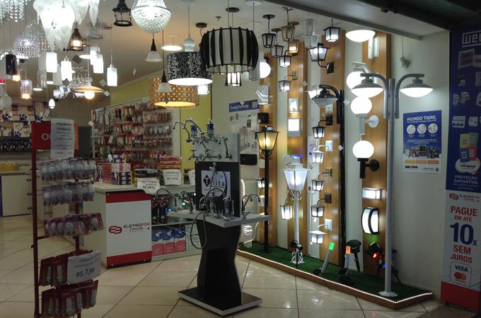 promoção de lâmpadas, loja de material elétrico em miguel couto