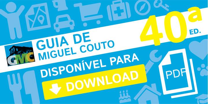 Guia de Miguel Couto: Faça Dowload da 40ª Edição em PDF