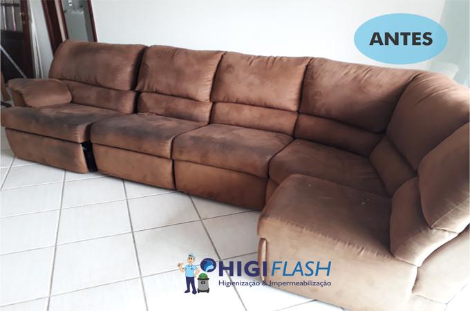lavagem a seco de sofá em botafogo