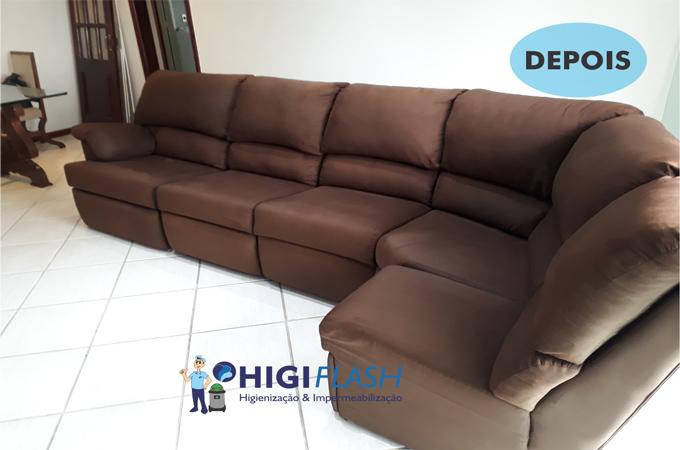 lavagem a seco de sofá em itaipava