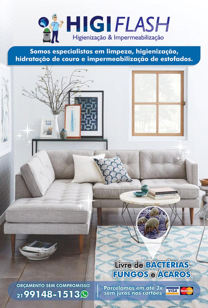 Higiflash. lavagem a seco de sofá em nova iguaçu, impermeabilização de sofá em nova iguaçu
