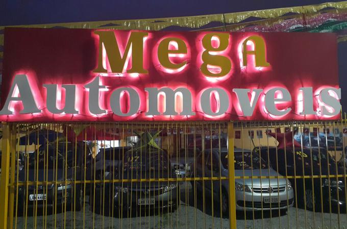 Mega Automóveis, carros financiado com entrada 0