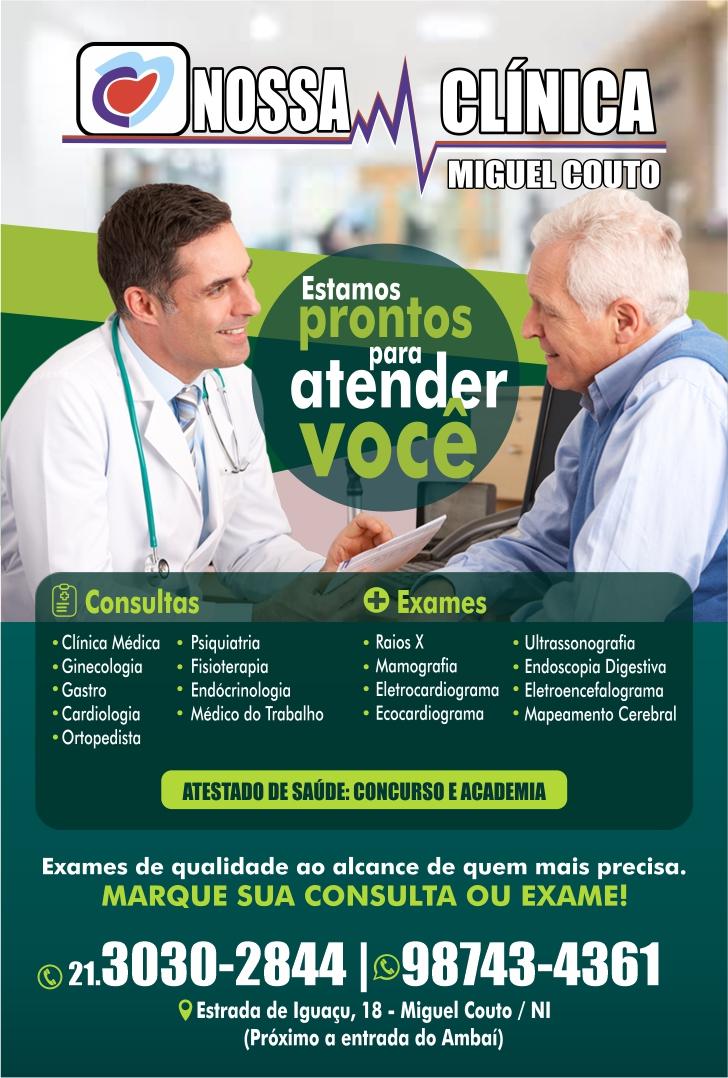 Nossa Clínica Miguel Couto: Consultas e exames em miguel couto