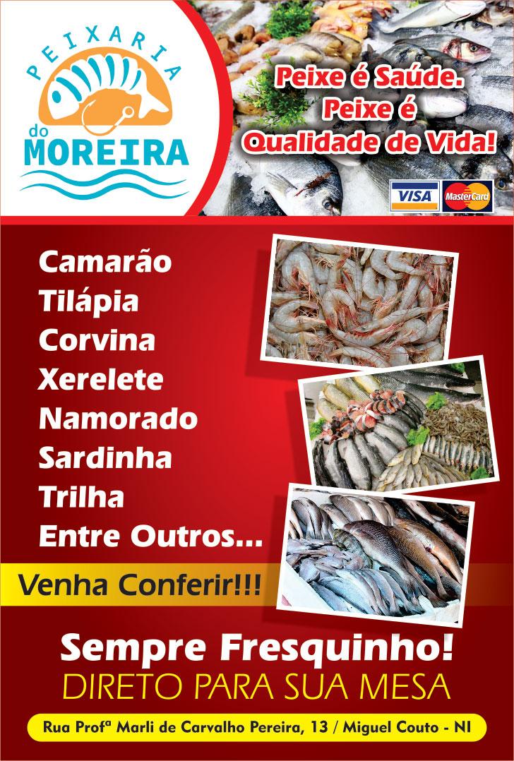Peixaria do Moreira, peixaria em miguel couto, qual a melhor peixaria de miguel couto