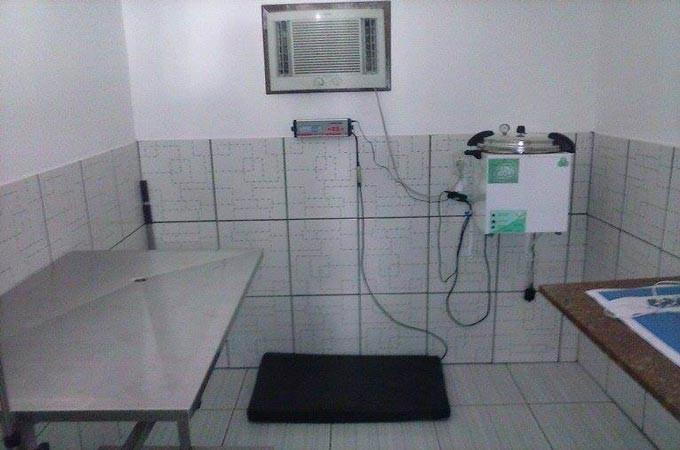 Consultório refrigerado