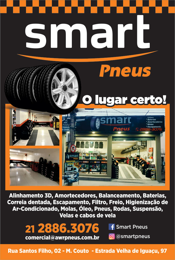 SmartPneus Miguel Couto. Auto center em miguel couto, alinhamento em miguel couto
