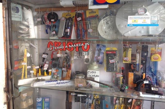 vitrine de ferramentas