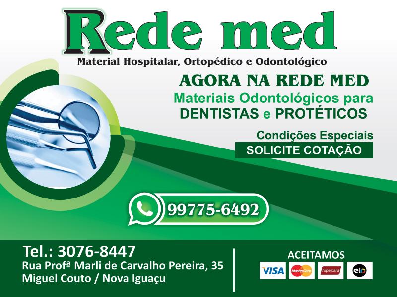 Rede Med - Material Hospitalar e Ortopédico. material hospitalar em miguel couto, materiais para dentistas e protéticos em miguel couto
